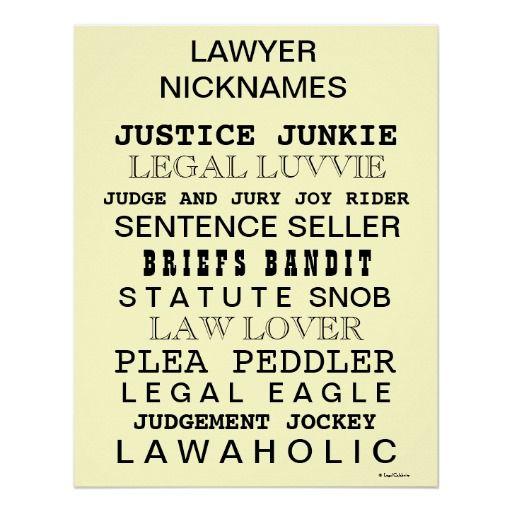 Brunette nicknames