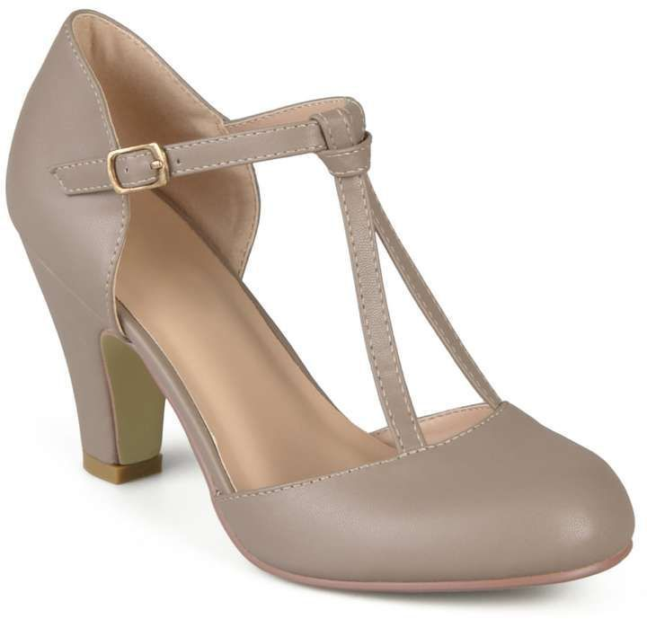 Photo of Journee Collection Toni Women's Mary Jane Heels,  #Collection #hårstil