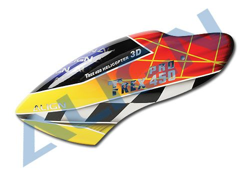 Align Trex 450 PRO Painted Canopy HC4204   RC Helicopter
