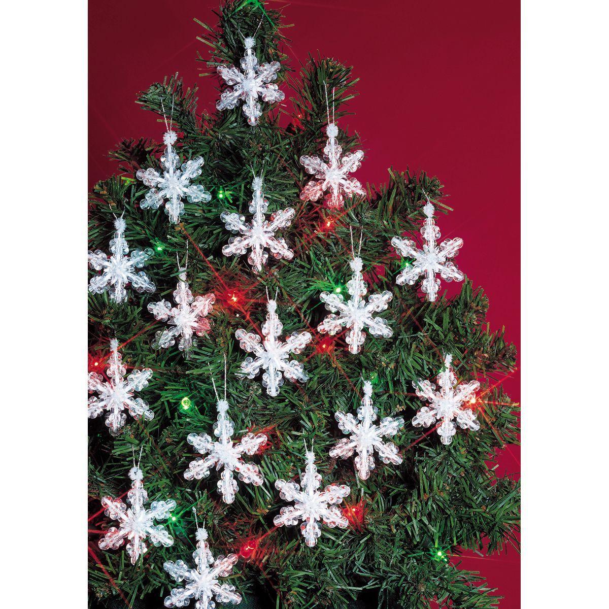 miniature paper craft model kit A Snowflake Christmas tree