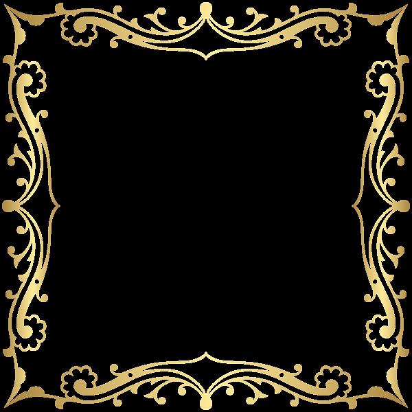 decorative border frame transparent clip art image borders