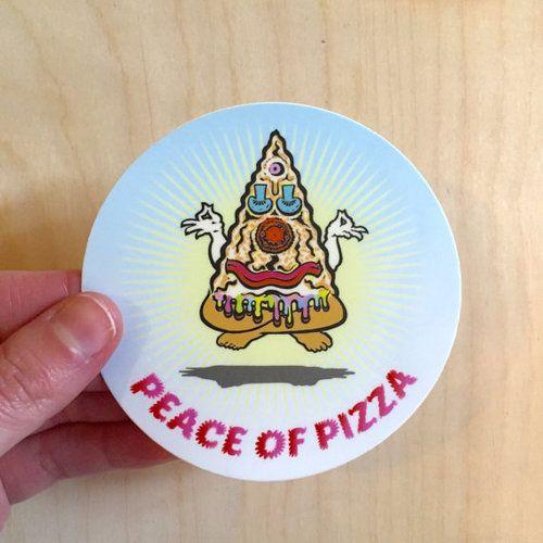 STICKER | PEACE OF PIZZA