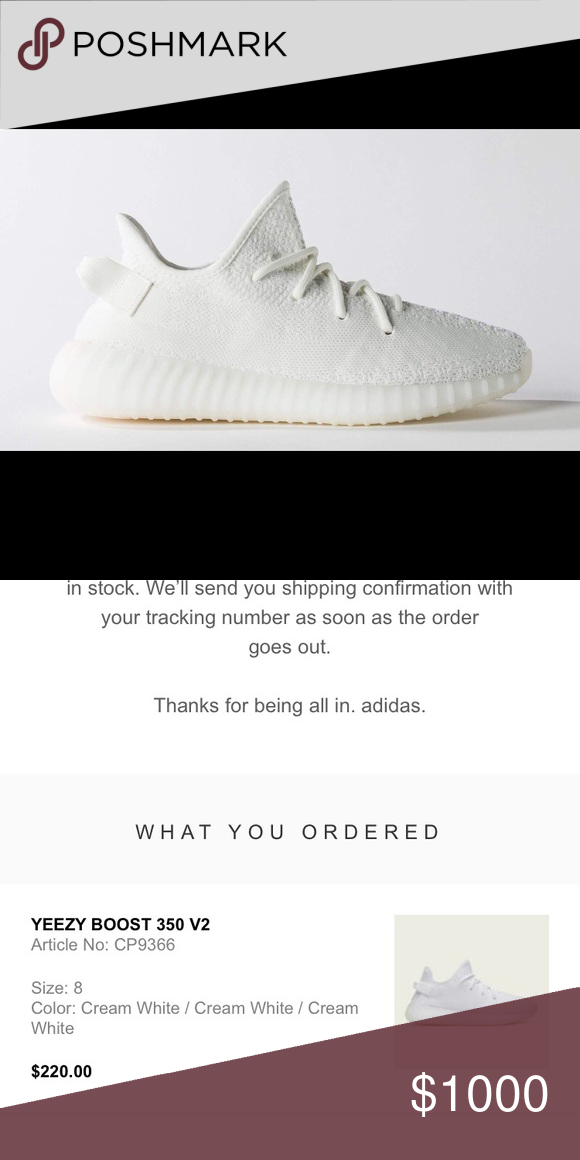 0439307ebac2e Yeezy 350 Boost V2 Cream White Just bought the latest colorway of yeezys  from adidas.