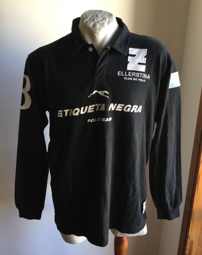 newest dbfbe 15f78 Maglia etiqueta negra polo team ellerstina trikot shirt ...