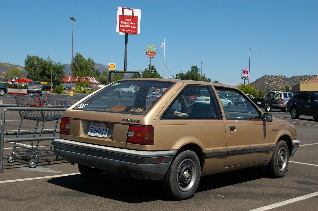 1985 chevrolet spectrum   1986 Chevrolet Spectrum 2-door hatchback ...