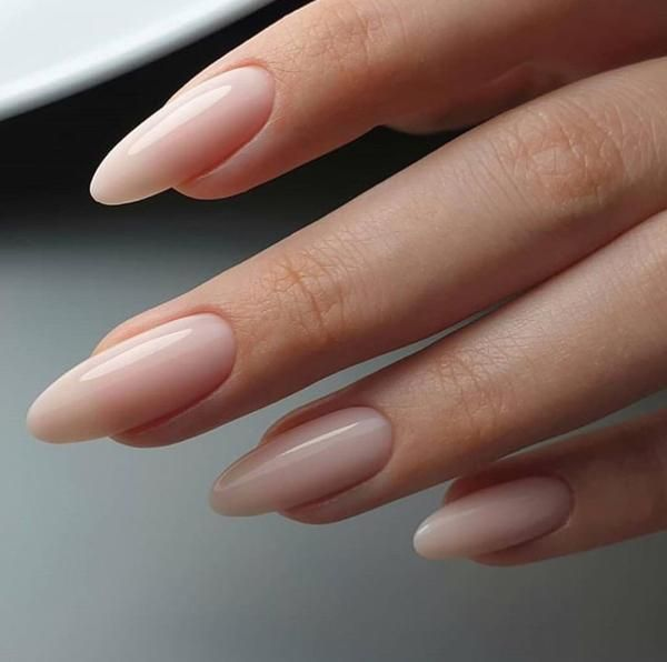 Demure Oval Nails Almond Acrylic Nails Long Nails