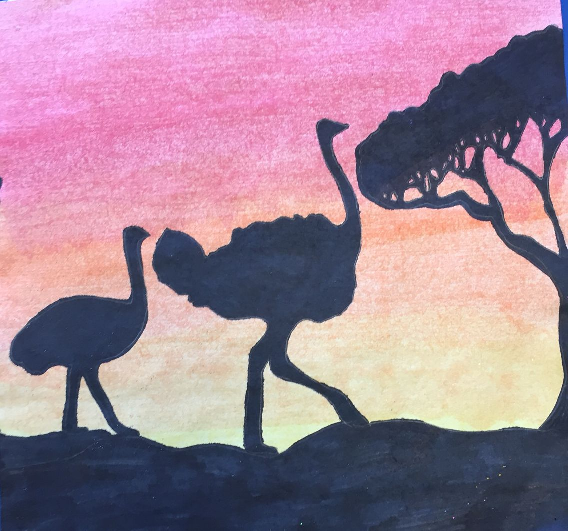 Pin by Mr Awesome on African Animals at Dusk Art Club