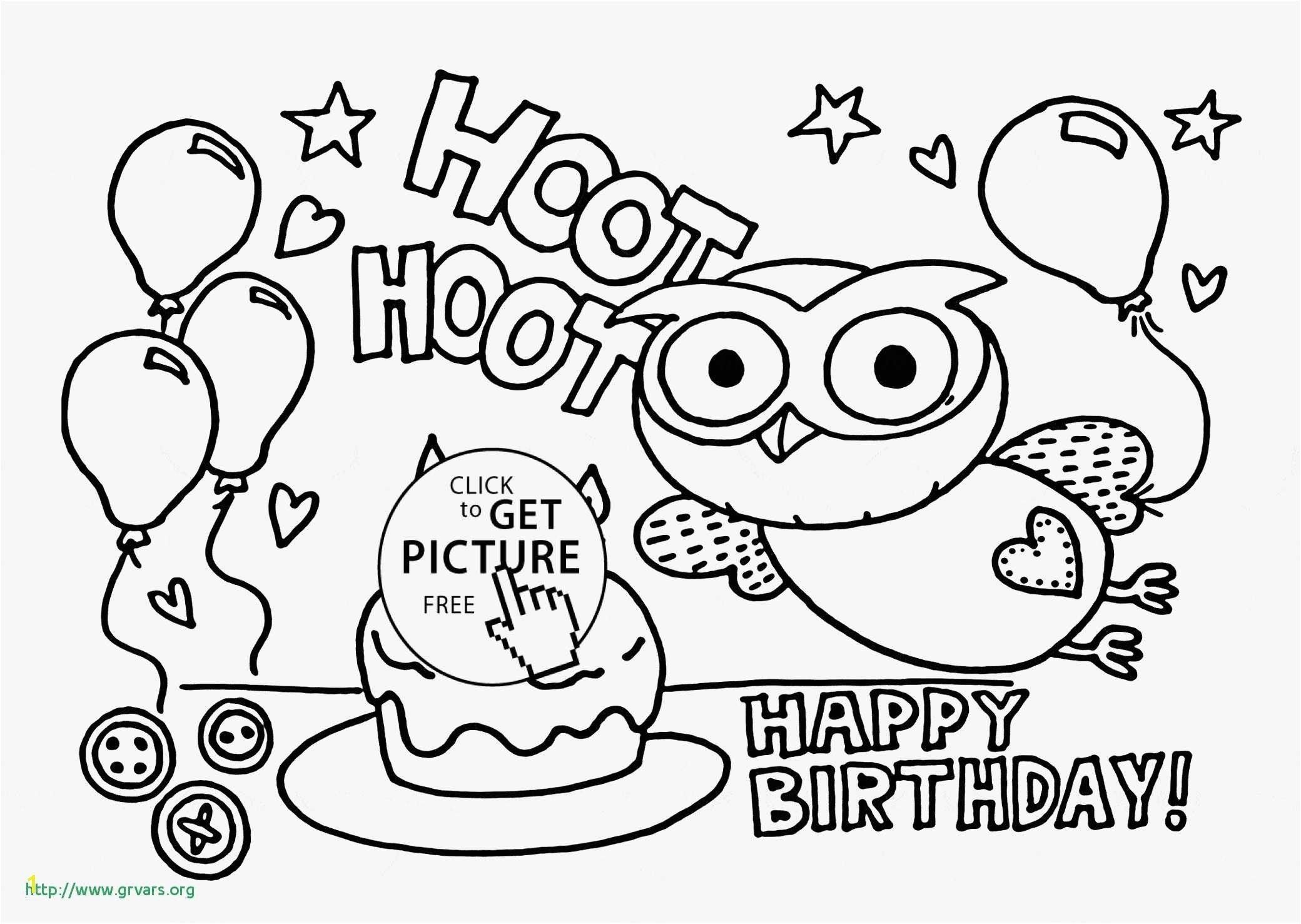 Happy Birthday Coloring Card Luxury Fresh Happy Birthday Cards Coloring Pages Z Happy Birthday Coloring Pages Birthday Coloring Pages Coloring Birthday Cards