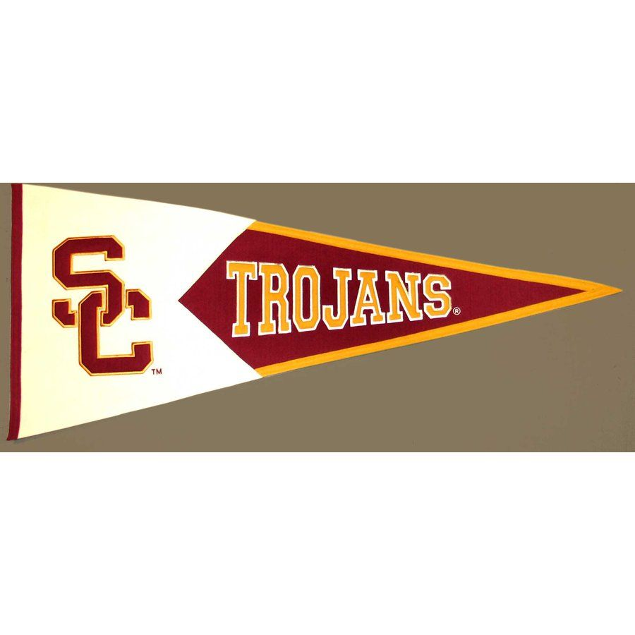 College Usc Trojans Usc Trojans Banners Pennants Usc Usc Trojans Usc Trojan