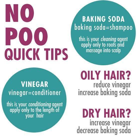 No Poo Tips