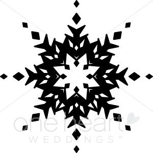 Image result for snowflake clipart black and white