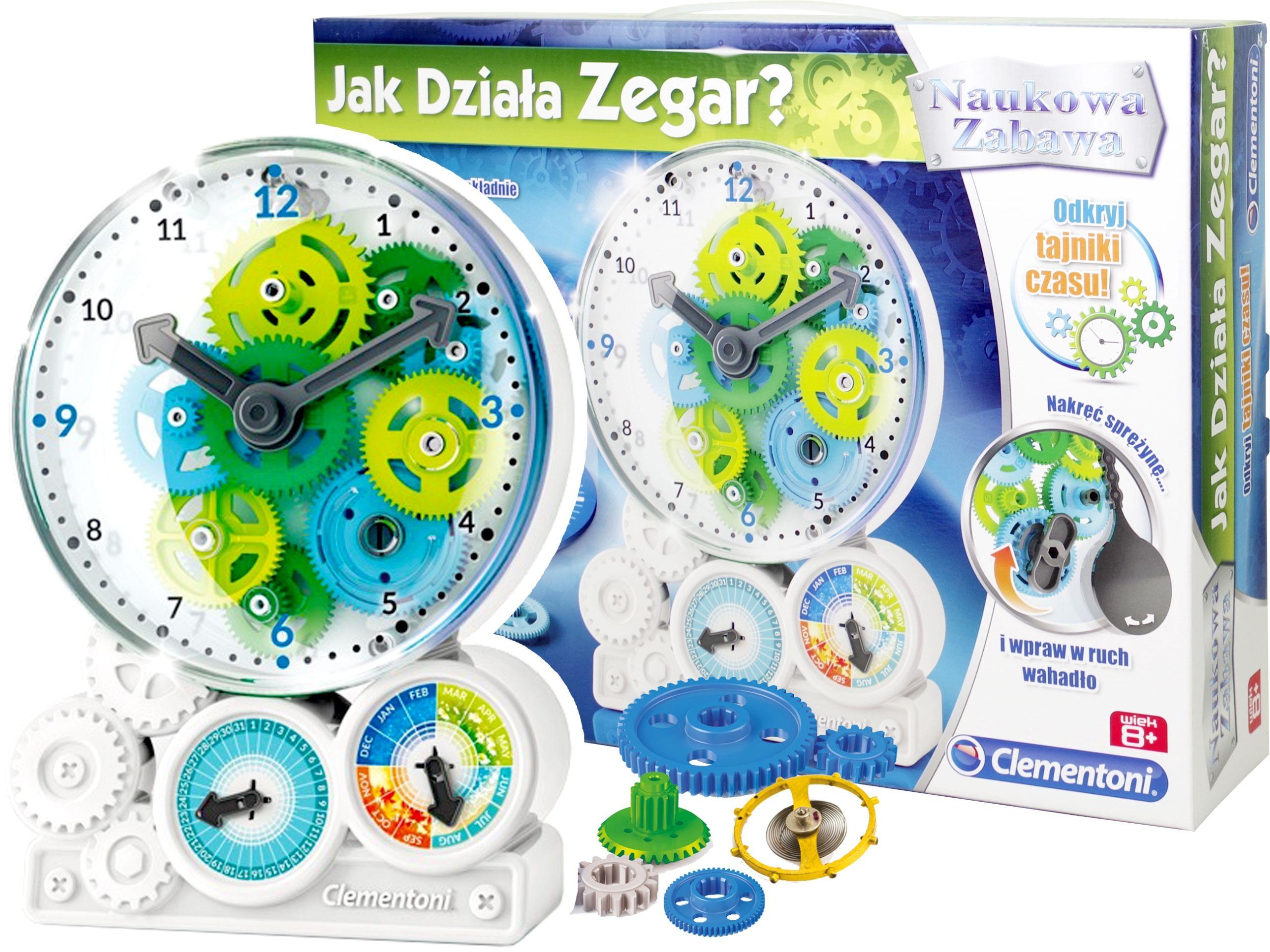 Kup Teraz Na Allegro Pl Za 39 70 Zl Clementoni Jak Dziala Zegar Naukowa Zabawa 60948 7348854837 Allegro Pl Radosc Zakupow I Bezpieczenst Tableware Plates
