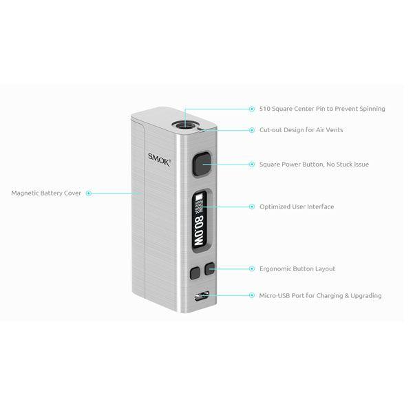 Steam Mini 80W TC Box Mod | Box Mods | Mini, Box