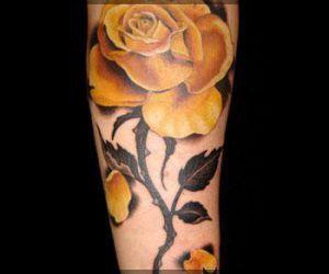 Flower Tattoos rose