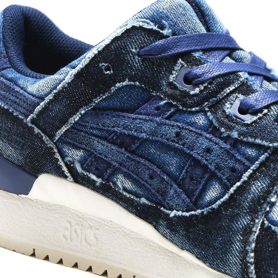 818190cc14d9 ASICS Gel Lyte III Washed Denim Classic Blue