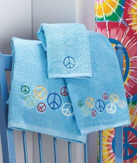26 Peace Sign Stuff Ideas, Peace Sign Bathroom