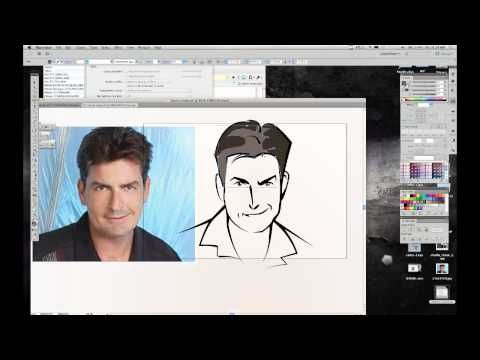 Charlie Sheen - Actor, Winner, Cartoon! (Adobe Illustrator0 WEEK 7
