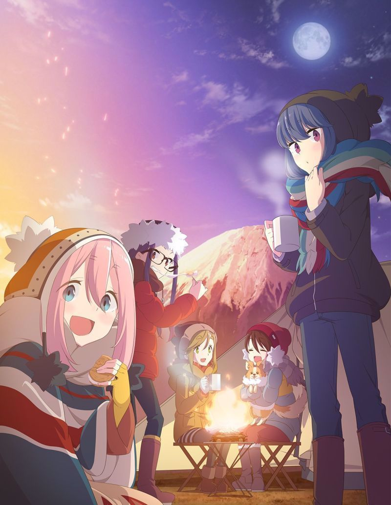 Laid Back Camp Anime Hits Japanese Tv On 1 4 2018 Anime Herald