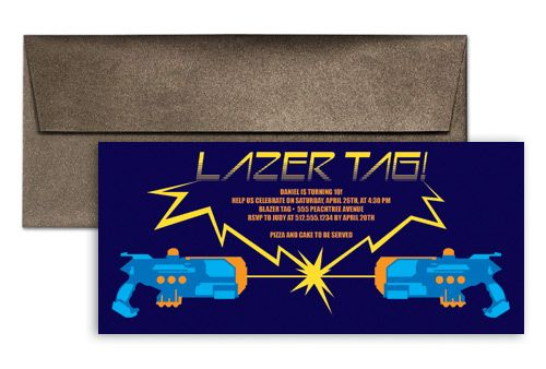Laser Tag Invitation Wording | Jaybug bday party | Pinterest ...