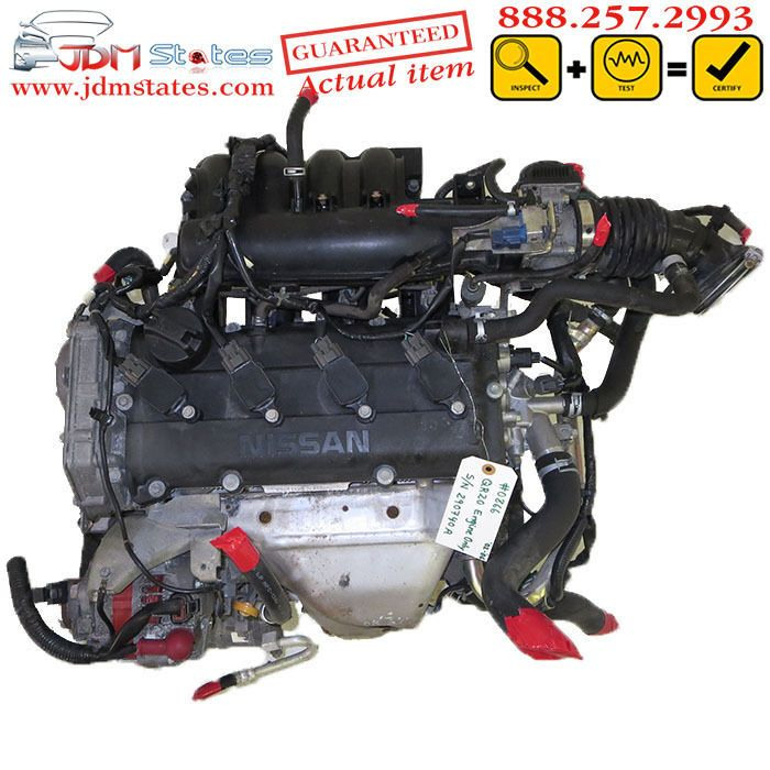 JDM Nissan QR20DE DOHC Engine 2002 - 2006 QUANTITY AVAILABLE: 3