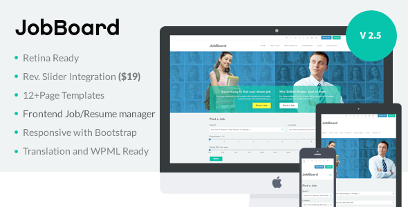Jobboard responsive recruitment directory wordpress theme job jobboard responsive recruitment directory wordpress theme cheaphphosting Choice Image