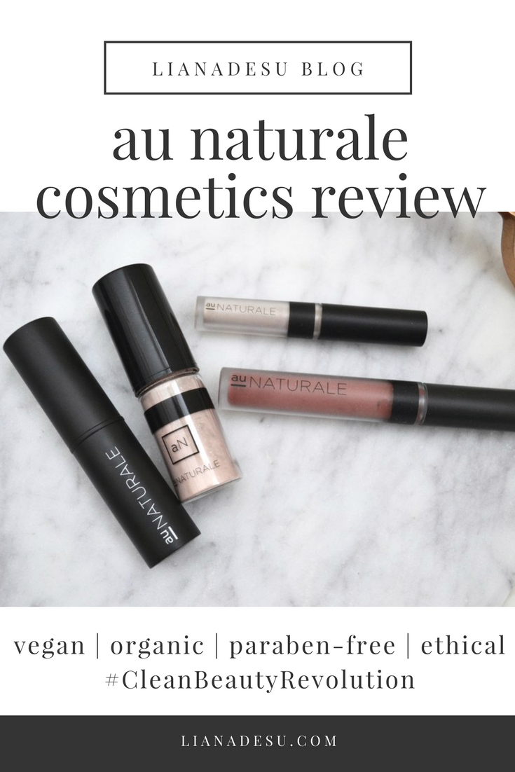 Au Naturale Cosmetics Review Best drugstore makeup