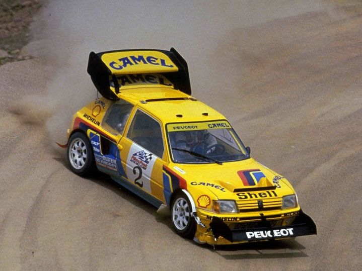 peugeot 205 t16 pikes peak small cars are beautiful. Black Bedroom Furniture Sets. Home Design Ideas