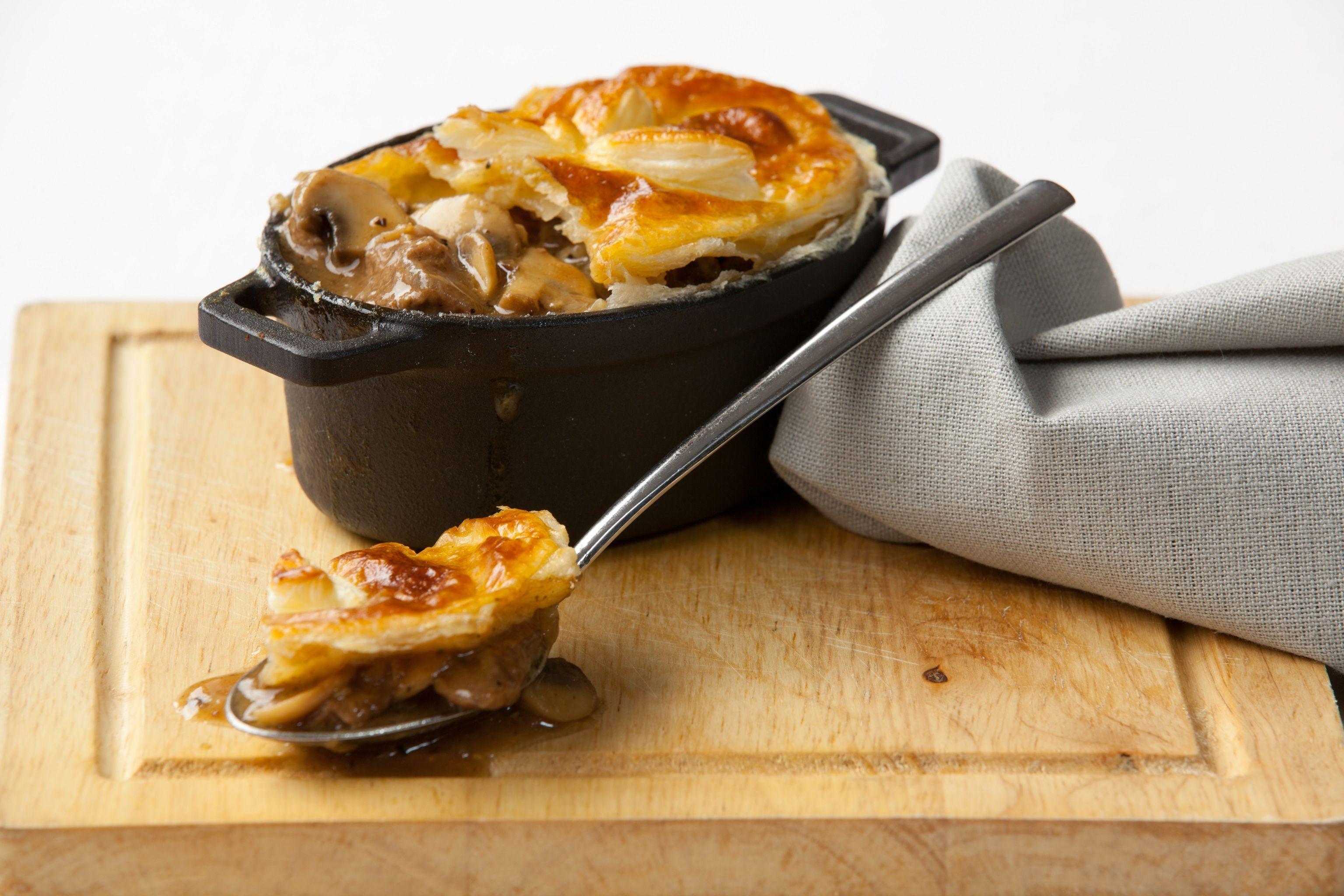 Rustic steak and mushroom pie | Recipe | Steak, mushrooms ...