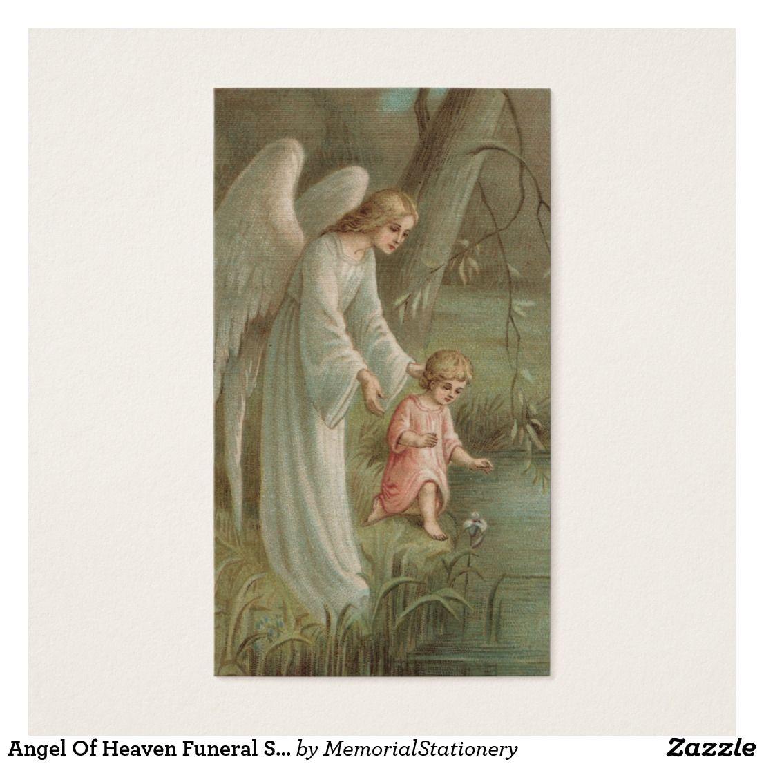 Prayer Cards Angel Of Heaven Zazzle Com Au Guardian Angels