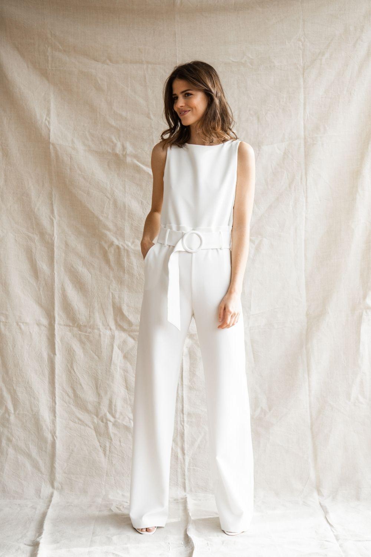 Épinglé sur Robe de mariée Combinaison & Pantalons