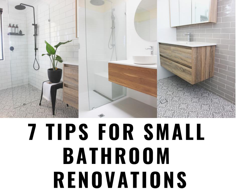 Small Bathroom Tips Small Bathroom Renovations Top Bathroom Design Bathroom Renovations Perth