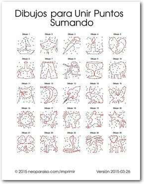 Dibujos Para Unir Puntos Sumando Juegos De Unir Puntos Puntos Libros De Quinto Grado