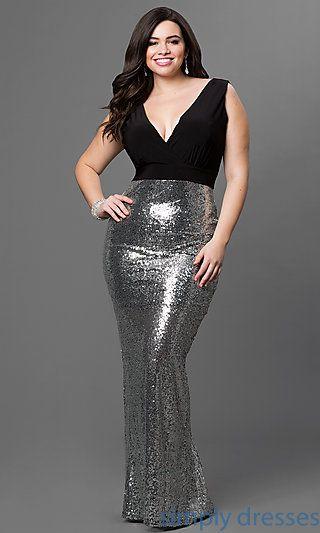 dd8000f202a Shop Simply Dresses for women s plus size formal dresses. Sexy plus size  prom dresses
