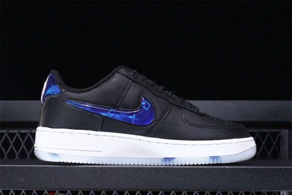 9a9b3ed311f Playstation x Nike Air Force 1 Low Black Cobalt Blaze BQ3634-001-4 ...