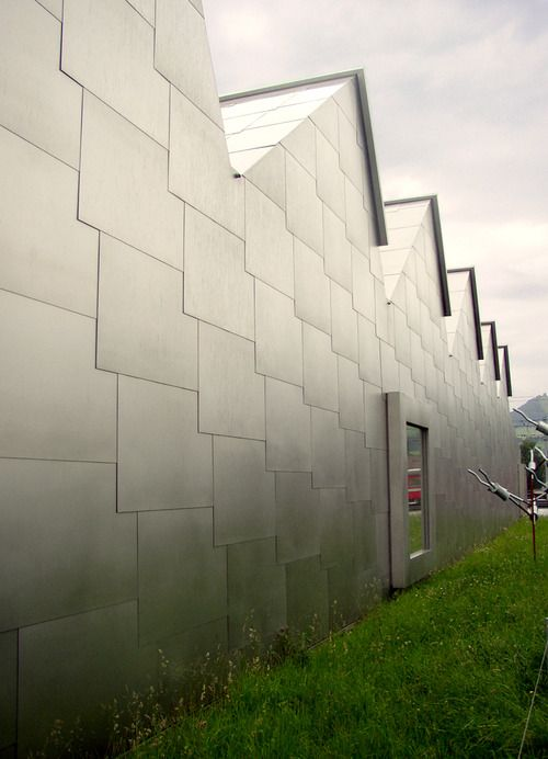 Gigon \ Guyer - Museum Liner, Appenzell 1998 gigon guyer - exemple de facade de maison