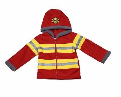 99b5dba3c Widgeon Boys Red   Yellow Fireman Jacket Coat with Hood