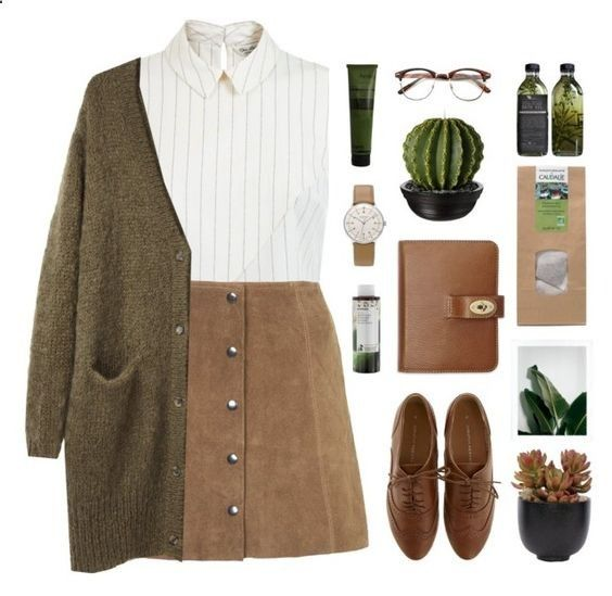 A fashion look from September 2015 featuring Acne Studios cardigans, Miss  Selfridge tops and Topshop skirts. Browse and shop related looks.