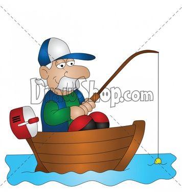google images clip art free of fish fisherman cartoon without rh pinterest com Holding a Bass Bass Fishing Logos