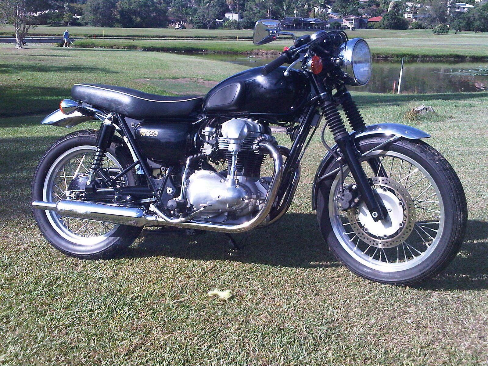 Kawasaki W650 99 NOT T120R T140 Triumph BSA Norton BMW Buell Would SW P    eBay