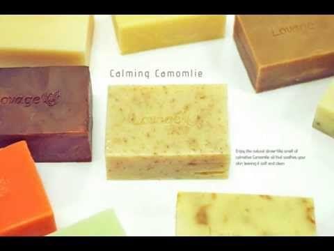 Explore handmade soap in .... motion!! تعرفوا أكثر على صابون لوفاج المصنع يدويا ....... بالحركات