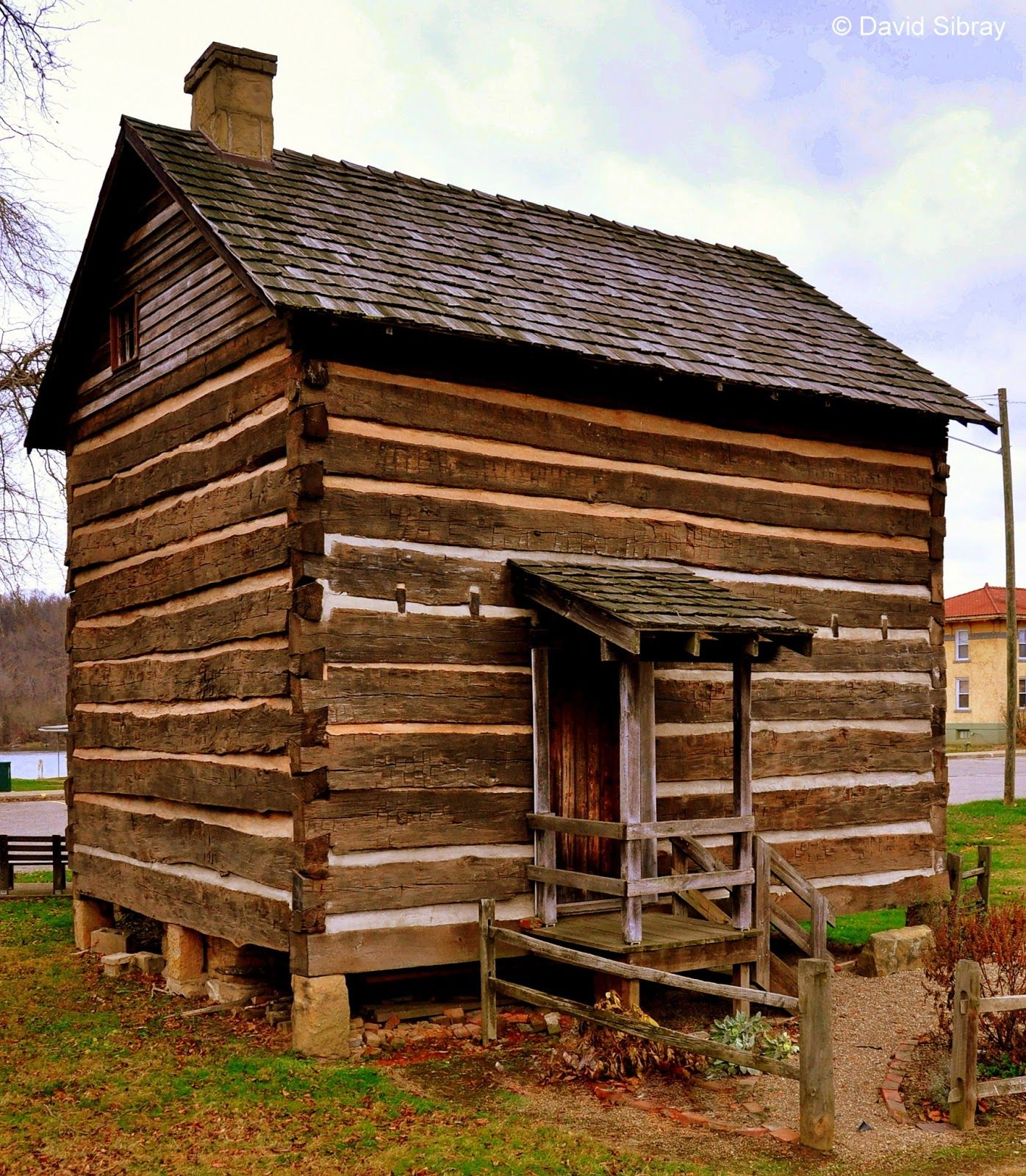 Log Cabin Moved To Ravenswood, West Virginia