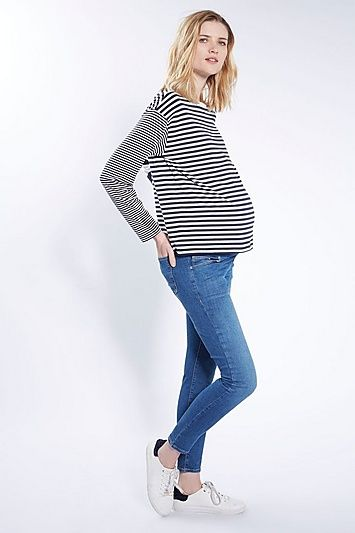 ff60c1df154d9 MATERNITY Under The Bump Leigh Jeans in 2019 | Products | Trouser ...