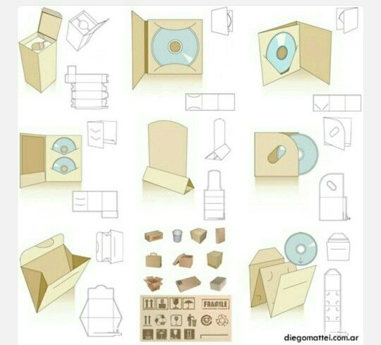 Pin By Sally L On Packaging Pinterest Box Carton Box And Box - Cd packaging templates