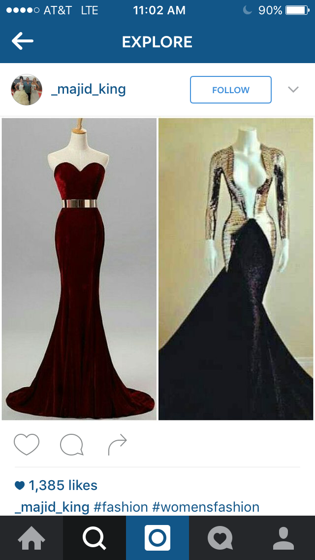 The dress on the right side is EVERYTHING #gorgeous
