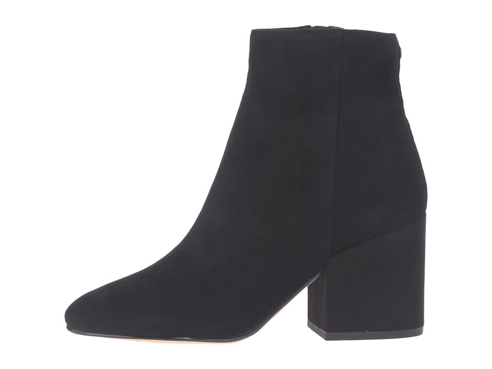 Sam Edelman Taye Women's Shoes Black Kid Suede Leather 1