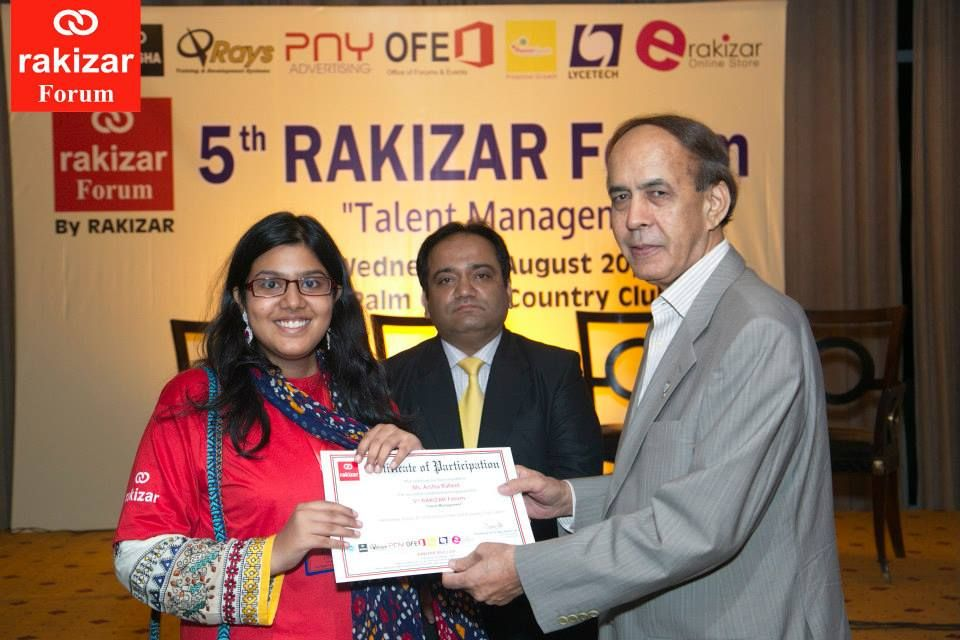 "Topic: ""Talent Management""		 Date: Wednesday, August 20, 2014		 Time: 5 pm - 9 pm		 Venue: Royal Palm Golf & Country Club, Lahore		 http://on.fb.me/1FzthqC"