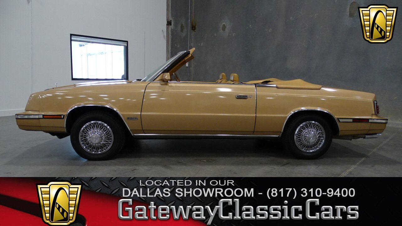 1985 Chrysler Lebaron Town And Country Convertible With Images