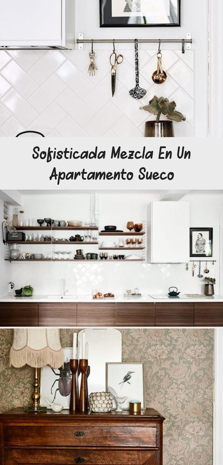 Sofisticada mezcla en un apartamento sueco salones ikea ...