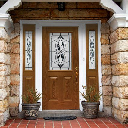 Mastercraft Doors Have Lots Of Beautiful Art Glass Options This Is