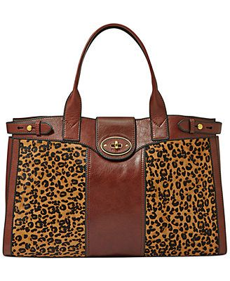 6308b2709fb0 Fossil Vintage Reissue Leather Haircalf Weekender Bag | Bag Lady! in ...